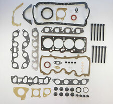FULL ENGINE HEAD SUMP BOTTOM GASKET SET BOLTS ESCORT FIESTA 1.6 RS TURBO RS1600