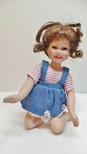 GEPPEDDO  DOLL  MARILYN AND FRIENDS PLAY TIMES SERIES PORCELAIN DOLL