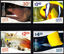 Niue 2014 Fish Complete Set of Stamps, MNH