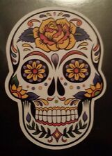 Mexican candy sugar skull day of the dead laptop sticker halloween tablet 198