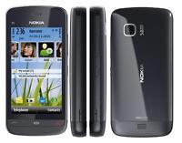 Nokia C5-03 Graphite Black Grau Schwarz C5 Symbian Smartphone Ohne Simlock NEU
