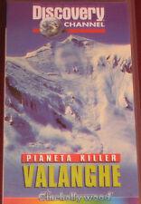 """Videocassetta/VHS """" VALANGHE """" cod. CHV 9141"""