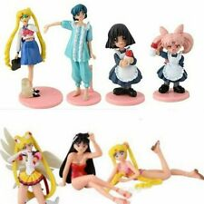 Japan Anime Sailor Moon Action Figure Toys Gift Set of 7pcs NEW UK