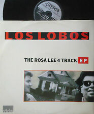 "LOS LOBOS ~ The Rosa Lee 4 TRACK EP ~ 12"" Single PS"