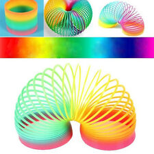1PC Baby Infant Toddler Rainbow Spring Slinky Educational Developmental Toy Gift