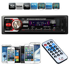 Autoradio Audio Nel Cruscotto 1 DIN Radio FM Mp3 Lettore USB SD Input AUX