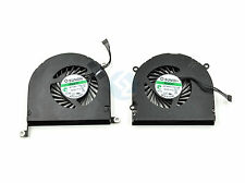 "NEW Left and Right Cooling Fans for Apple MacBook Pro 17"" Unibody A1297"