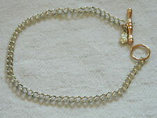Clogau Sterling Silver & 9ct Rose Welsh Gold T-Bar Charm Bracelet RRP £330.00