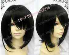 TT-419 Another Misaki Mei Cosplay Costume Short Black Wig