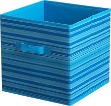 Home Storage Box Household Organizer Fabric Cube Bins Collapsib Basket Container