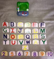 Leap Frog Fridge ABC's & Numbers 2002 Magnetic Letters Working Condition