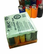 200 Full Size Big Bic Lighters Disposable Bulk Wholesale Lot & Fast Shipping