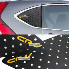 C Pillar Window Glass Sports Plate Molding Yellow Logo for HONDA 2012-2016 CR-V