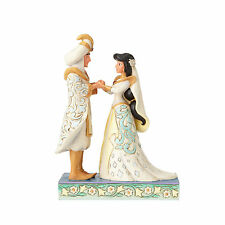 Disney Traditions Jim Shore Aladdin & Jasmine Royal Wedding Couple Figurine