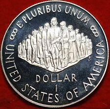 "1987-S  The U.S. CONSTITUTION COMMEMORATIVE $1 SILVER ""PROOF"" COIN, Nice Coin"