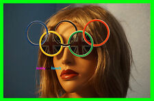 OLYMPIC SUNGLASSES WITH UNION JACK LENSES FANCY DRESS NOVELTY UNISEX GLASSES