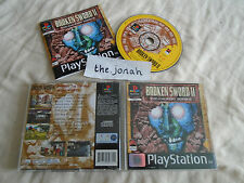 Broken Sword 2 The Smoking Mirror PS1 (COMPLETE) Sony Playstation black label