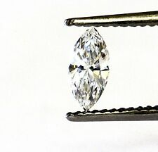 GIA certified loose marquise shape 0.37ct diamond VS1 E 7.73x3.58x2.33mm