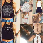 Fashion Summer Women Casual Tank Tops Vest Blouse Sleeveless Crop Tops Shirt LOT