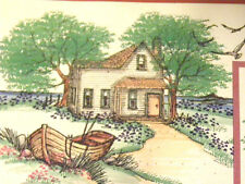 Old Farm House U get photo 2 RETIRED L@@K@examples Art Impressions Rubber Stamps