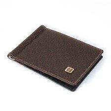 Pince à billet en cuir Porte Cartes de Crédit Idéogramme Chinois DOUBLE JOIE
