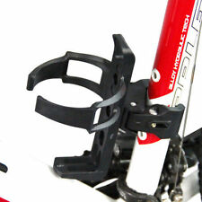 Bicycle Cycling Quick Release Bike handlebar mount Water Cage Holder Rack Black
