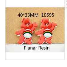 Care Bears Planar Resin flatback 40 x 33 mm (pack of 5)