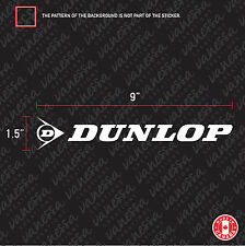 2X DUNLOP TIRE BRAND CAR sticker vinyl decal