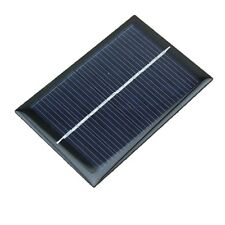 1PCS 6V 100mA 0.6W Polycrystalline Mini Epoxy Solar Panel Photovoltaic Panel T9