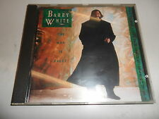 CD  Barry White - The Man Is Back