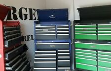 PROFESSIONAL Rollcab & Top Chest Heavy Duty 19 Drawer tool storage cabinet top