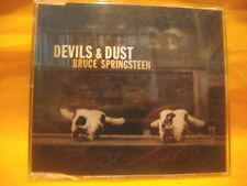 MAXI Single CD BRUCE SPRINGSTEEN Devils & Dust PROMO 1TR 2005 rock & roll