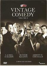 VINTAGE COMEDY VOLUME 2 (TWO) - 3 DVD BOX SET - BUSTER KEATON & MORE