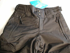 Girls COLUMBIA CRUSHED OUT Black Snow Pants W/Grow System Sz 7-8 NWT $90