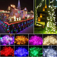 LED Christmas Tree Lights Fairy String Xmas Party Wedding Indoor&Outdoor 10M 20M