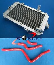 Aluminum Radiator & Red Hose for Yamaha Raptor 660/660R YFM660R 2001-2005 02 03