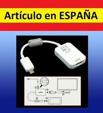 CABLE ADAPTADOR MHL micro USB a HDMI mini Samsung Galaxy AV TV movil smartphone