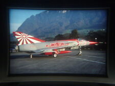 military aircraft slide Swiss Air Force Mirage III S J-2326 at Buochs (wvs)