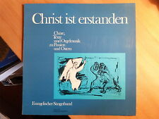 """12"""" LP - Ev. Sängerbund Wuppertal - Christ ist erstanden - Orgelmusik zu Passion"""
