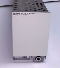 HP 70909A Spectrum Analyzer RF Module, 100 Hz to 26.5 GHz OPT Z40 Agilent