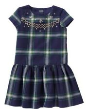 NEW Girls Gymboree Dress All Spruced Up Plaid Christmas Holiday $34 NWT Size 7