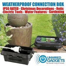 Weatherproof Connection Box for Arduino Raspberry Pi Garden Water Feature Xmas