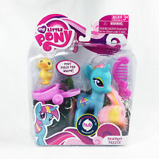NEW My Little Pony Dewdrop Dazzle + Pet Duck 2010 Retired Collectible Figure