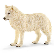 Schleich 14742 Arctic Wolf Wild Animal Model Toy Figurine - NIP