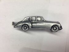 Rolls Royce Cloud 2 ref212 pewter effect car emblem on a Tie Clip (slide)