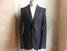 MAISON MARTIN MARGIELA LUX BROWN WOOL SILK BLEND JACKET BLAZER S 52 42 COAT