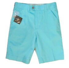 Loudmouth Golf Mens Golf Shorts Powder Blue Size 28 Flat Front Golf Shorts