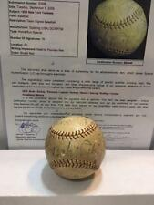 1933 Yankees Autograph Signed Baseball Babe Ruth, Lou Gehrig, Dickey JSA COA