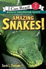 Amazing Snakes! (I Can Read Level 2) Thomson, Sarah L. Paperback