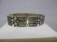 70er Design Armband Silber 835 punziert